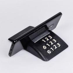 (PMC)큐브 논슬립 폰넘버 스마트홀더전화번호알림판핸드폰거치대