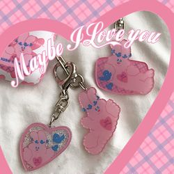 maybe i love you key ring (키링)
