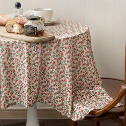 온더파리지앵에밀리 식탁보 테이블보 120x120cm