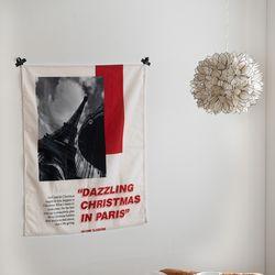 대즐링크리스마스 자체제작 패브릭포스터 65x85cm