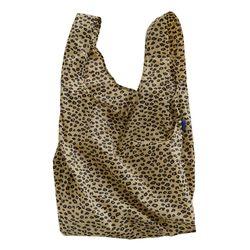 [바쿠백] 대형 빅사이즈 에코백 장바구니 Honey Leopard