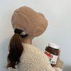 양털 버킷햇 여성 가을 겨울 니트 벙거지 모자
