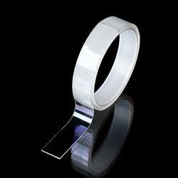 초강력 방수 다용도 정리 투명 실리콘 양면테이프 1M 2개 1SET