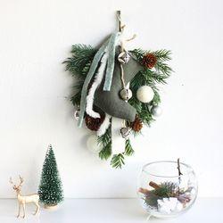 크리스마스  양말벽걸이
