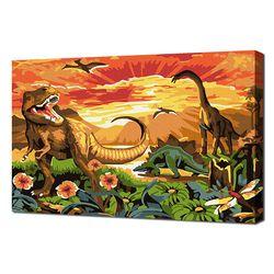 [명화그리기]2030 미니동물-공룡시대 15색 일러스트