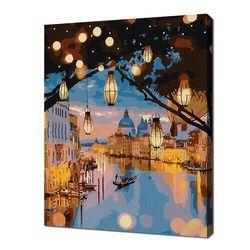 [명화그리기]3040 베네치아의 밤 18색 풍경화