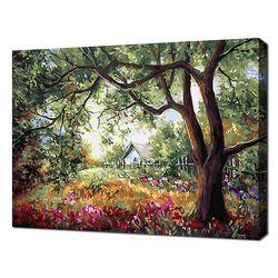 [명화그리기]4050 빨강머리 앤-제비꽃 골짜기 27색 풍경화