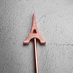빈티지 칵테일 에펠탑 머들러 1개(색상랜덤)