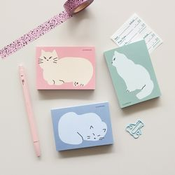 Cozy Cat Memopad 03
