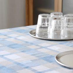 타탄 체크 식탁커버 3color- 4인용