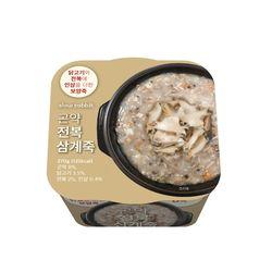 곤약 전복 삼계죽 (3개)