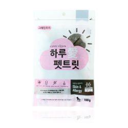강아지 영양 애견 간식 피부 건강 100g 반려견 펫푸드