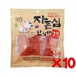 애완동물 강아지 호박 고구마 슬라이스 330gx10개