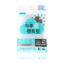 강아지 영양 애견 간식 관절 체중 100g 반려견 펫푸드