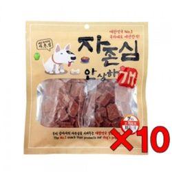 애견육포 강아지사사미 댕댕이 오리컷트200gx10개