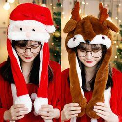 움직이는 모자 크리스마스 홈파티 파티소품