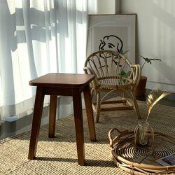 판테온 원목 스툴 의자
