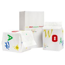 WOAH 발도장이찍히지않는 초대형 패드 2팩(40매)