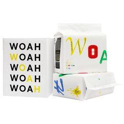 WOAH 발도장이찍히지않는 소형 패드 2팩(100매)