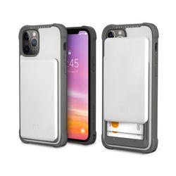 아이폰12프로맥스 슬라이더 카드 케이스-화이트