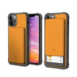 아이폰12프로맥스 슬라이더 카드 케이스-옐로우