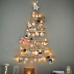 S 베베데코 크리스마스 향기나는 국민템 벽트리 미니트리