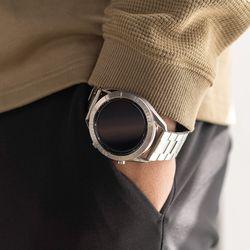갤럭시워치3 액티브2 링케 메탈원 시계줄 스트랩 밴드 맞춤형