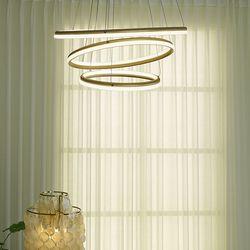 골드 국산 3등 LED 식탁 펜던트 조명 60w