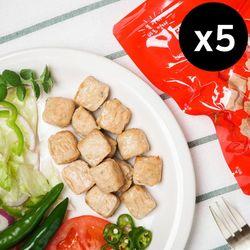 [아침몰] 아침 큐브 닭가슴살 청양(100g) 5팩