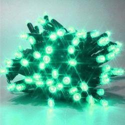 퍼스트 24V 방수형 96구 트리전구 녹색 크리스마스