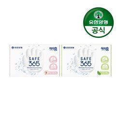 해피홈 SAFE365 비누 핑크포레향+그린샤워향(2입)