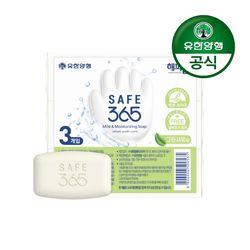 해피홈 SAFE365 비누 그린샤워향(3입)