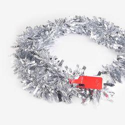 (인디고샵)크리스마스 실버 장식모루