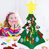 3D 크리스마스 벽트리  DIY 어린이 부직포트리 펠트트리 벽트리