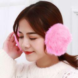 겨울엔 털귀마개(핑크)