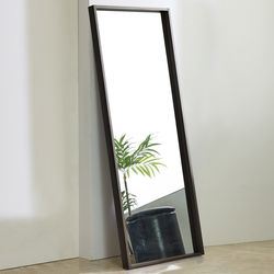 준우드 전신경700 블랙 화이트 메이플 레드 전신거울