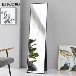 준우드 로옹LPM 전신거울400 높이1600 블랙 화이트 브라운