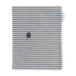 책을 품는 북파우치 줄무늬 파랑