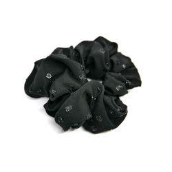 shine black chouchou