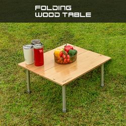 폴딩 우드 테이블  캠핑테이블사이드 테이블