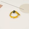 Soft Pearl Collar S size Yellow