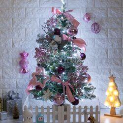 핑크라인하트그레이트리 90cm 크리스마스 세트 TRFSET