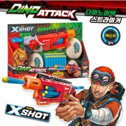 X-SHOT 다이노어택 스트라이커 너프건