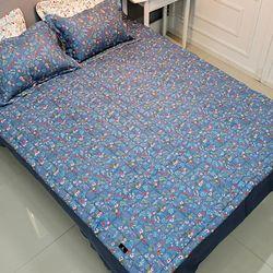 좋은솜 좋은이불 그린 광목면 침대 패드 150x200