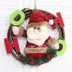 크리스마스 리스 F형 매장 카페 홈 인테리어 어린이집