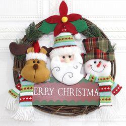 크리스마스 리스 A형 매장 카페 홈 인테리어 어린이집