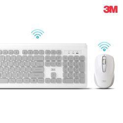 3M 무소음 무선 키보드마우스 세트 MK-150 화이트