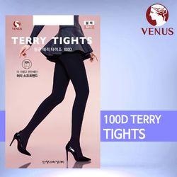 비너스 VST8781 100D 항균 테리 보온 타이즈