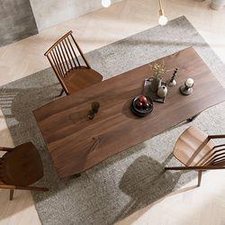 제이픽스 터프 뉴송 우드슬랩 식탁 테이블 2000