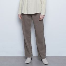 W425 coduroy wide pants brown